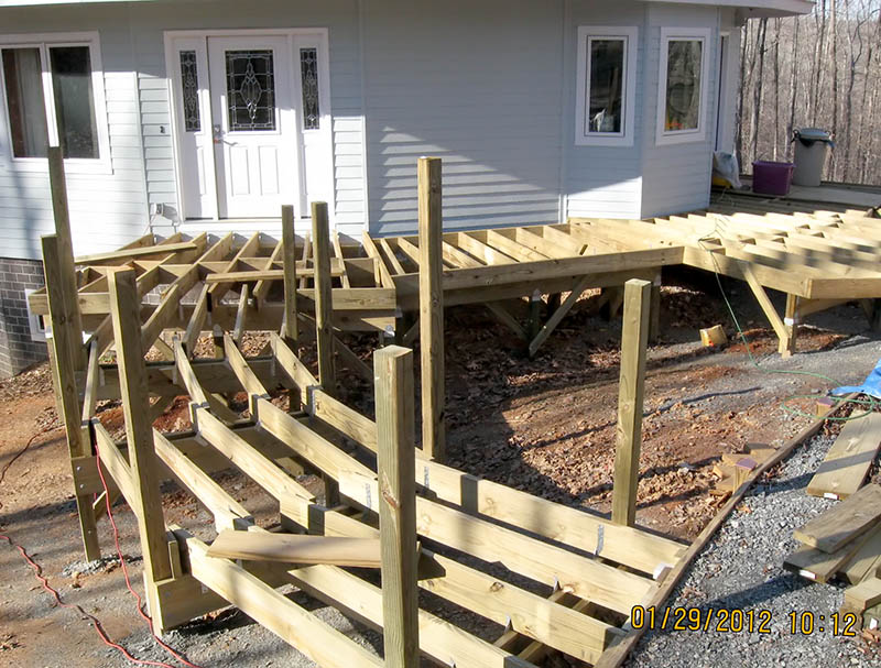 how to build patrio walkway