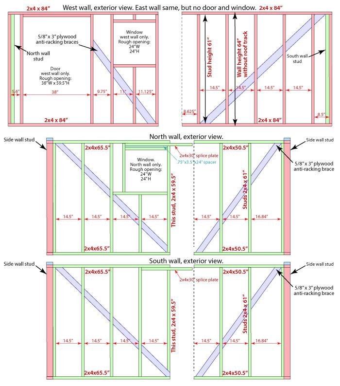 Project: Observatory – Walls & door